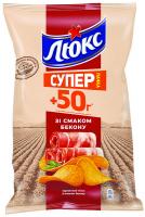 Чіпси Люкс Бекон 183г
