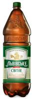 Пиво Львівське світле пастеризоване 4,2% 2,4л