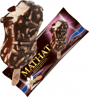 Морозиво Ажур Магнат ваніль-шоколад 80г х30