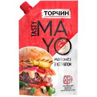 Майонез Торчин з кетчупом 200г