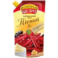 Майонезний соус Щедро Пісний 50% 350г