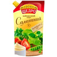 Майонезний соус Щедро Салатний 30% 350г
