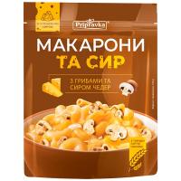 Макарони Pripravka з сиром чедер та грибами 150г