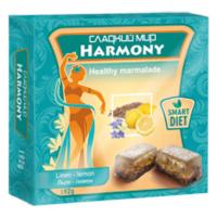 Мармелад Сладкий Мир Harmony льон-лимон 192г