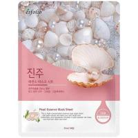 Маска Esfolio Pure Skin тканинна для обличчя з перлинами