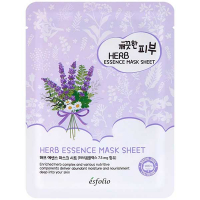 Маска Esfolio Pure Skin тканинна для обличчя з травами