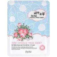 Маска Esfolio Pure Skin тканинна для обличчя з трояндою