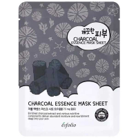 Маска Esfolio Pure Skin тканинна для обличчя з вугіллям