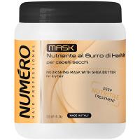 Маска Numero д/волосся живильна на основі масла каріте 1л