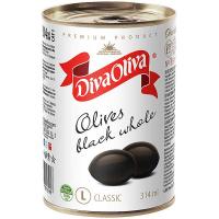 Маслини Diva Oliva L з/к 300мл