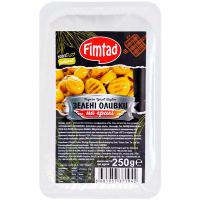 Маслини Fimtad чорні в'ялені 250г