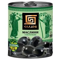 Маслини Еллада Colossal з/к ж/б 850мл