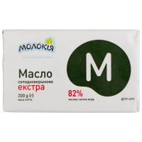 Масло Молокія Екстра 82% 200г