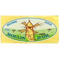 Масло Moulind'or вершкове несолоне 82% 250г