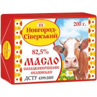 Масло Селянське солодовершкове 82,5% Н-ССЗ 200г