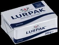 Масло Lurpak вершкове солоне 82% 200г