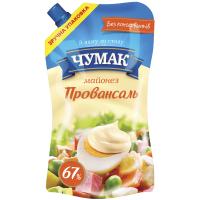 Майонез Чумак Провансаль 67% 350г х12