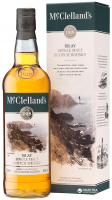 Віскі McClellands Islay 40% 0,7л короб х2
