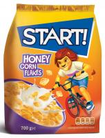 Пластівці Start кукурудзяні медові 700г