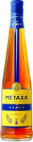 Алкогольний напій Metaxa 5* 38% 0,7л у коробці
