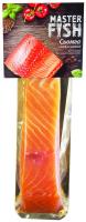 Сьомга Master Fish філе-шматок слабосолена 130г