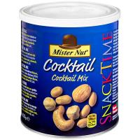 Мікс Mister Nut Коктель смажене горіхове асорті 400г