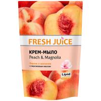 Мило Fresh Juice рідке із гліцерином персик д/п 460мл