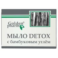 Мило Golden Farm Detox з бамбуковим вугіллям 70г
