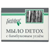 Мило Golden Farm Detox з бамбуковим вугіллям 70г