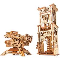 Модель Ugears механічна Вежа-аркбаліста арт.70048