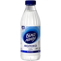 Молоко Біла лінія пастеризоване 2,5% 840г