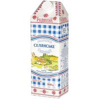 Молоко Селянське Родинне ультрапастеризоване 2,5% тетра-пак 1500г