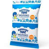 Молоко Волошкове поле ультрапастеризоване п/е 2,5% 900г