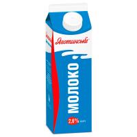 Молоко Яготинське 2,6% п/пак 900г