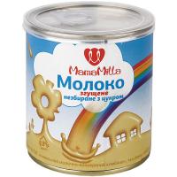 Молоко згущене MamaMilla незбиране з цукром 8,5% ж/б 380г