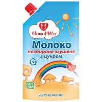 Молоко згущене незбиране з цукром MamaMilla Україна 300г