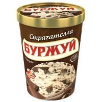 Морозиво Ласунка Буржуй Страчателла 500г