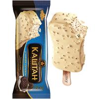 Морозиво Хладик Каштан з темним печивом 75г