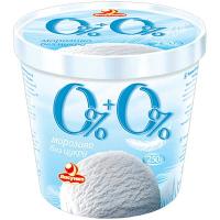 Морозиво Ласунка 0% + 0% 250г