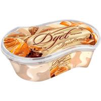 Морозиво Ласунка Cream Dyet грушове з соусом нуга 12% 555г