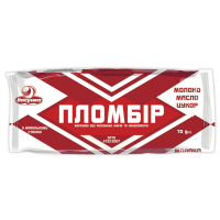 Морозиво Ласунка Пломбір у вафельном стак. 70г