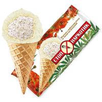Морозиво Ласунка Стоп наркотик з маком та кунжутом 80г