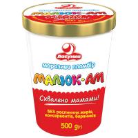 Морозиво пломбір Малюк-Ам TM Ласунка Україна, 500г