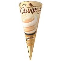 Морозиво Рудь Імпреза Біанко ріжок 100г