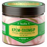 Морозиво Рудь Pura Vida Крем-Пломбір 350г