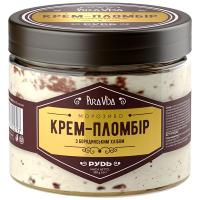 Морозиво Рудь Pura Vida Крем-Пломбір з бородин. хлібом 350г