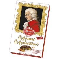 "Цукерки з темного шоколаду ""Моцарт-медальйони"" TM ""Reber Mozart"" Німеччина 100г"