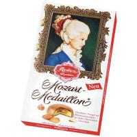 """Цукерки з молочного шоколаду """"Констанція-медальйони"""" TM """"Reber Mozart"""" Німеччина 100г"""