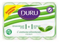 Мило туалетне тверде Duru Soft Sensations Зелений чай, 4 шт.*90 г