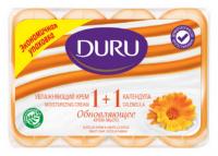Мило туалетне тверде Duru Soft Sensations Крем+Календула, 4 шт.*90 г